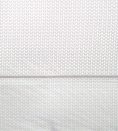 J. Sábanas Tic-Tac gris