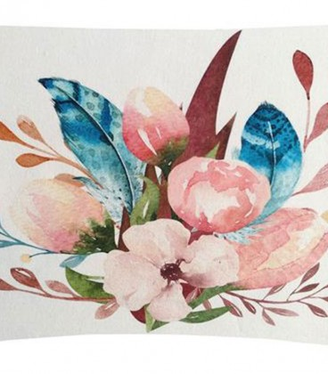 Cojín digital Floral