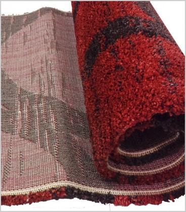 ALFOMBRA OASS-1769 roja y negra