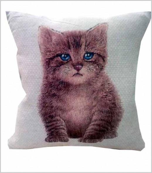 Cojín Mascota Gatito