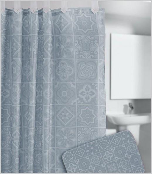 Cortina de ducha Azulejos